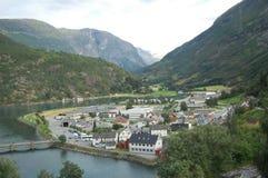 Norway miasteczko Zdjęcia Royalty Free