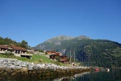 Norway - mountain landscape. Fiord Geiranger Stock Photo