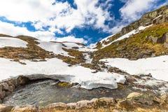 Norway mountain landscape Royalty Free Stock Photo