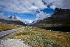 Norway - mountain road Stock Photos