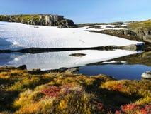 Norway Mountain Scenery Scenic Road Royalty Free Stock Photos