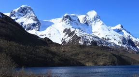 Norway mountain Royalty Free Stock Photos