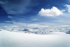 Norway mountain view Royalty Free Stock Photo
