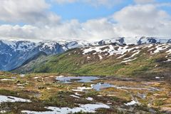 Norway mountains Stock Photos