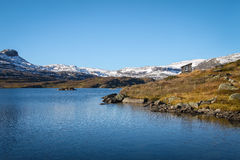 Norway mountains and lake Royalty Free Stock Photography