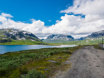 Norway Mountains. A perfect spot for hiking -> Mountains in norway Stock Image
