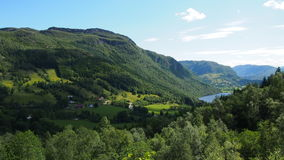 Norway mountains Stock Images