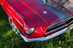 Mustang veteran vintage sports car. Norway, 2012: Mustang veteran vintage sports car Royalty Free Stock Photography