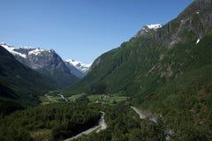 norway någonstans Fotografering för Bildbyråer