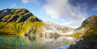 Norway, Nature Coast Mountain Landscape Royalty Free Stock Photography