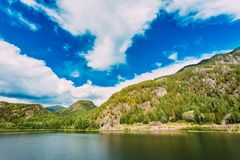 Norway Nature Fjord Stock Images