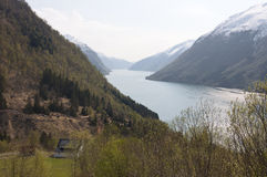 Norway. Norwegian fjord Royalty Free Stock Images