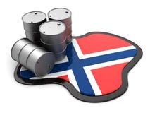 Norway oil Stock Photos