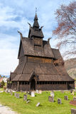 Norway old church Royalty Free Stock Image