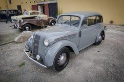 Opel Record veteran vintage car. Norway, 2012: Opel Record veteran vintage car Royalty Free Stock Photo
