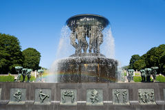 Free Norway. Oslo. Frogner Park. The Fountain Vigeland. Royalty Free Stock Image - 86003836