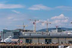 norway oslo port royaltyfri fotografi