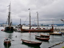Norway, Oslo-view on harbour Bygdoy Royalty Free Stock Images