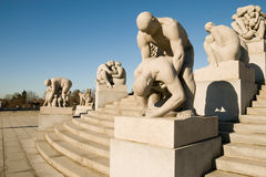 Norway.Oslo.The Vigeland Park Stock Photography