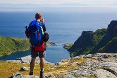 Norway panorama Royalty Free Stock Image