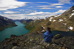 Norway Panorama  Stock Photography