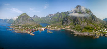 Norway panorama Royalty Free Stock Photography