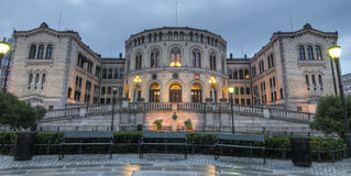 norway parlament Fotografia Royalty Free