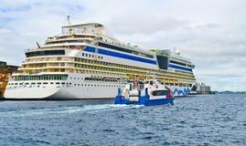 norway pasażera port wysyła Stavanger Fotografia Stock