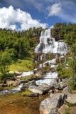 norway piękna siklawa obrazy stock