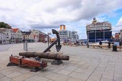 norway portowy Stavanger Obrazy Royalty Free