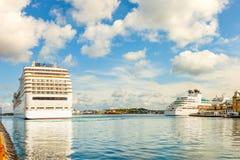 norway portowy Stavanger Zdjęcie Stock