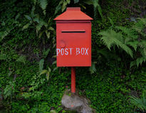 norway postbox czerwieni travle Fotografia Stock