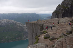 Norway, Preikestolen Royalty Free Stock Photography