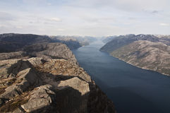 Norway, Preikestolen Royalty Free Stock Image