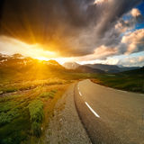 Norway road Stock Photography