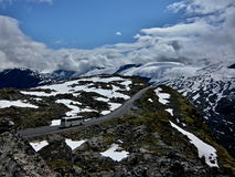 Norway-Road 63 to Geiranger Royalty Free Stock Photo