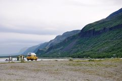 Norway. The road to the Nordkapp it`s absolutely awsome Stock Images