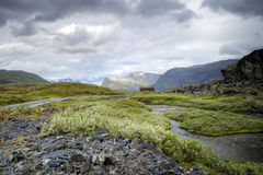 Norway, rocky mountains. Royalty Free Stock Photos