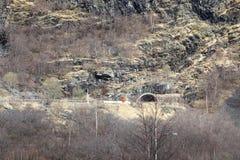 norway Route dans les montagnes photographie stock libre de droits