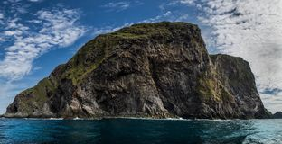 "Norway, Runde, Panorama. A panoramic shot of the famous bird-island ""Runde"" in norway Stock Image"