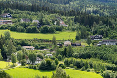 Norway rural landscape Stock Photo