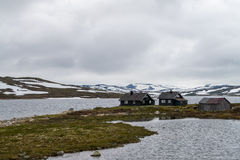 Norway rural landscape Royalty Free Stock Images