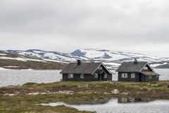 Norway rural landscape Royalty Free Stock Photo