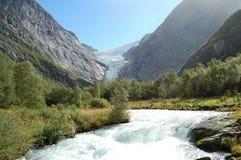 norway rzeka Zdjęcia Stock