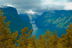 Norway's fjord Stock Photos