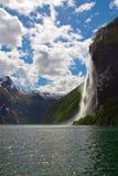 Norway's fjord Stock Image