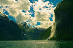 Norway's fjord Stock Photo