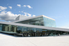 Norway's new operahouse. Was opened this year royalty free stock image