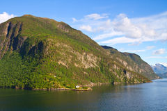 Norway, Scandinavia, Europe. Beautiful fjord Royalty Free Stock Photos