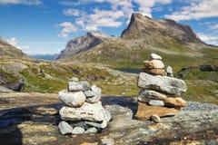 norway scandinavia Voyage Route de Trollstigen photo stock